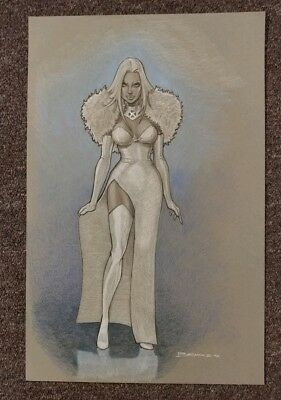 original comic art White Queen Emma Frost