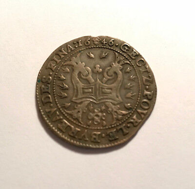 Spanish Italy, Naples, Filippo IV, brass jeton, 17th century