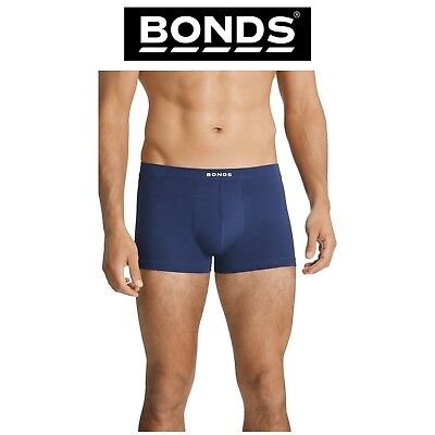 Mens Bonds Hipster Trunks Classic Jocks Pouch Support Soft Basic Trunk MYBXA