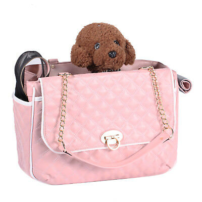 Small Cat Dog Puppy Pet Carrier Handbag Portable Cage Soft Crate Travel Tote Bag
