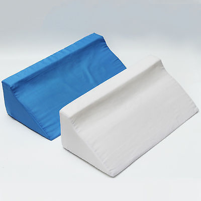 Foam Bed Wedge Acid Reflux Pillow Elevation Cushion w/ Washable Cover