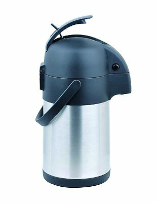 Cafe Moka Stainless Steel Coffee Airpot - 2.2 Ltr