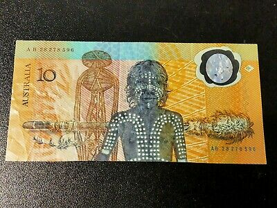 1988 Commemorative Australian $10 - First issue Worldwide of a Polymer Banknote