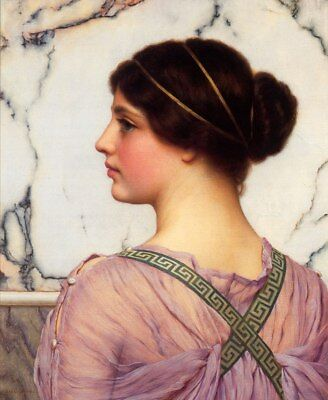 Ölbilder Ölgemälde  John William Godward 41x50cm