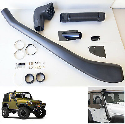 For 1992-1999 Jeep Wrangler Air Intake Ram Snorkel Kit System Offroad 4x4 4x2 4WD High Mount Cold Tube