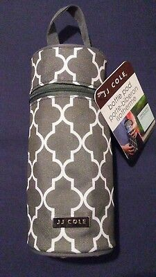 NWT JJ Cole Baby Bottle Pod  Aspen Arbor Hot/cold  bottle carrier/insulator