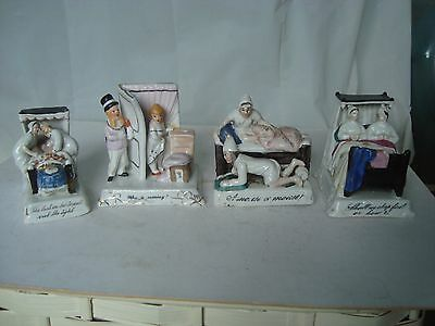 4 Victorian fairground fairings 1 Conta Boehme 2851 last in bed,  A mouse