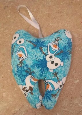 Frozen Olaf fabric tooth fairy pillow
