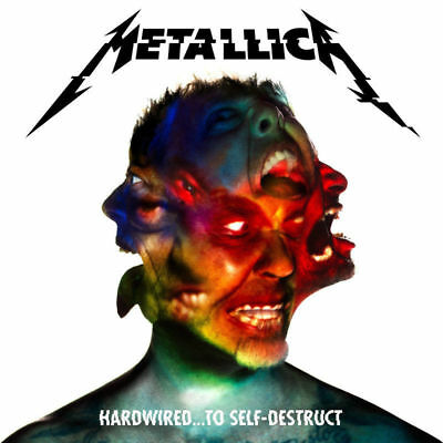 METALLICA Hardwired To Self Destruct - 2CD DISC SET *BRAND NEW* FACTORY SEALED*