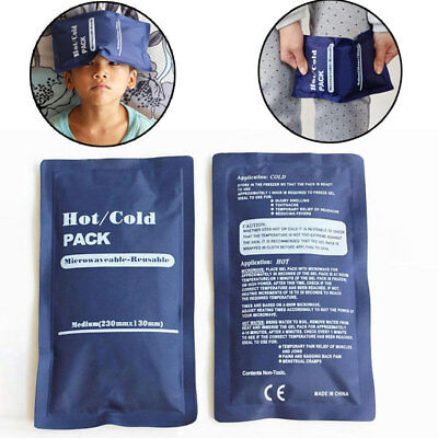 Reusable Hot / Cold Heat Gel Ice Pack Muscle / Back Muscle Aches Pain Relief