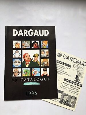 Catalogue Dargaud 1996 + Abonnement / Bd Asterix Lucky Luke Dan Cooper Valerian