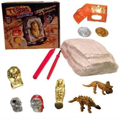 Dinosaur Excavation Kit Archaeology Digging up Fossils Skeleton Kids Fun Toy
