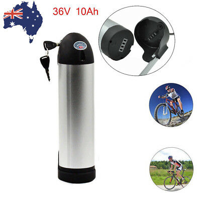 36V 10.4AH Silver Bottle Lithium Li-Ion Battery Pack for Electric Bicycle E-Bike