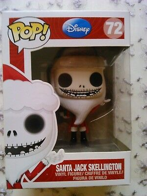 Nightmare Before Christmas Santa Jack Skellington Funko POP Vinyl Figure