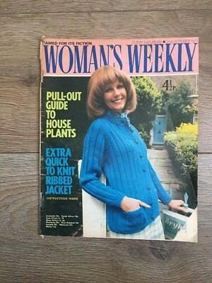 Womans Weekly 2 Oct 1971 Knitting Patterns Mary Burchell Pat Lacey