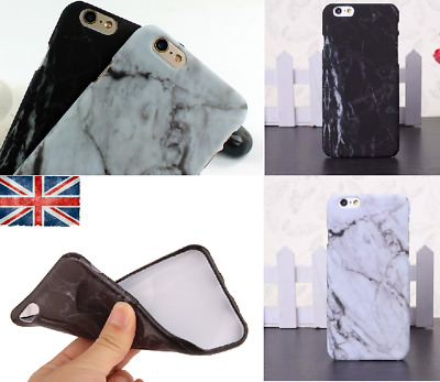 Art Glossy Granite Marble Soft TPU Phone Case Cover For iPhone X 7 6 5s 8 Plus