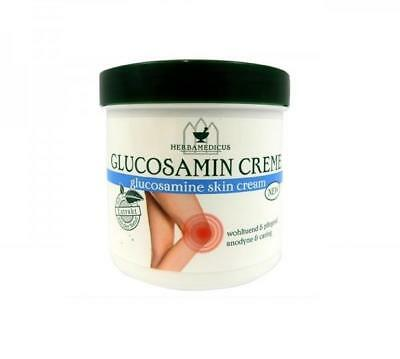 250ml GLUCOSAMIN MASSAGE CREAM JOINTS STIFF MUSCLES PAIN RELIEF VERY EFFECTIVE