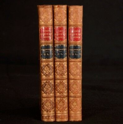 1862 3vols The Mayor of London City Life in The Last Century Ainsworth First Ed