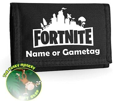 Fortnite Wallet - Choice Of Colour - Can Add Game Tag