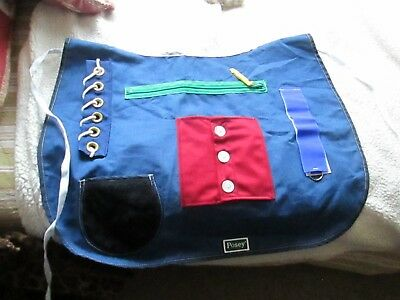 POSEY Adult Cognitive Therapy Multi Activity Apron One Size Fits All Model 7400