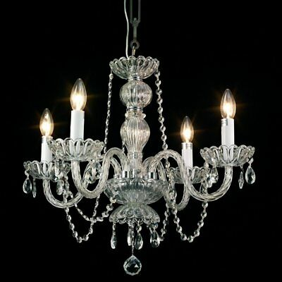 Starthi Mini Crystal Chandelier 4Light Antique  Pendant Chandelier Ceiling Light
