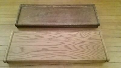 OAK stacking lawyer sectional bookcase OG tops Globe Wernicke Macey antique old