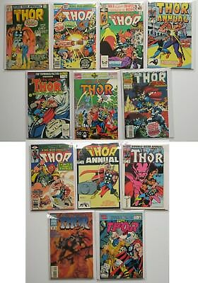 The Mighty Thor King-Size Annual Marvel Comics Group Comic Book Lot of 12 1971