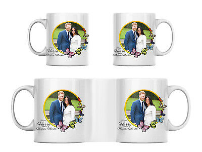 Prince Harry and Meghan Markle Mug, Royal Wedding Design 19th May 2018 Gift Mug