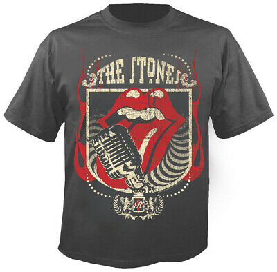 THE ROLLING STONES - 40 Licks - Charcoal - T-Shirt