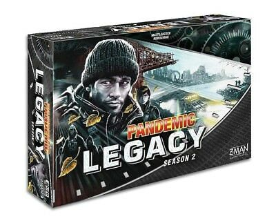 Pandemic Legacy Season 2 Black new Factory Sealed