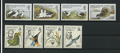 Falkland Islands Dependencies 1985 ** postfrisch Mi.Nr. 129-132 &138-141