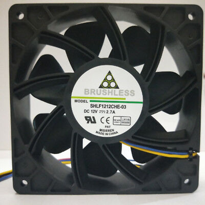 Cooler Cooling Fan For Antminer Bitmain S7 S9 Connector 4-Pin 6000RPM O9Q3Y