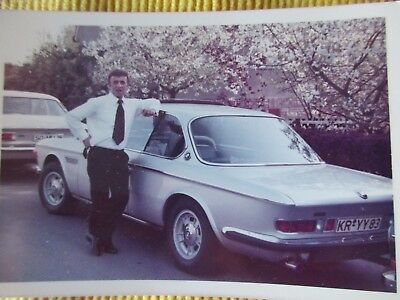 BMW   2000 CL   Coupe  --  Farbaufnahme --