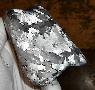 Beautiful 1520 Gm Campo Del Cielo Etched Tumbled Meteorite!!