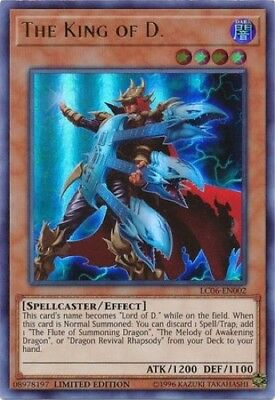 The King of D. (LC06-EN002) - Ultra Rare - 1st Edition