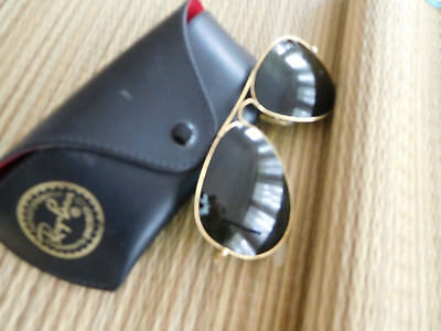Vintage Ray-Ban Aviators, Sunglasses, Bausch and Lomb,  58 MM., Made in the USA