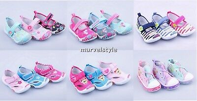 BABY GIRLS CANVAS SHOES TRAINERS NURSERY SLIPPERS UK size 4-7.5 /EUR 20-25 CUTE!