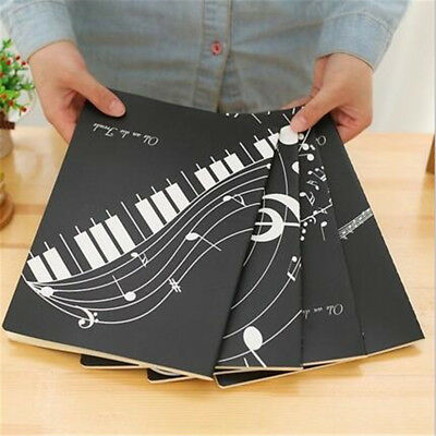 Blank Sheets Music Piano Manuscript Writing Paper Book Stave Notebook 46pages