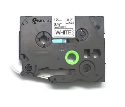10PK Compatible Brother Label Tape TZ231 TZe-231 Black on White