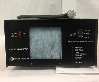 Fusion Systems P300 Power Supply (P/N: 200175) - Ships today!!