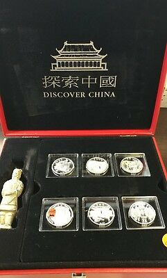 Discover China 2015 Silver coins Set with Terracotta Warrior