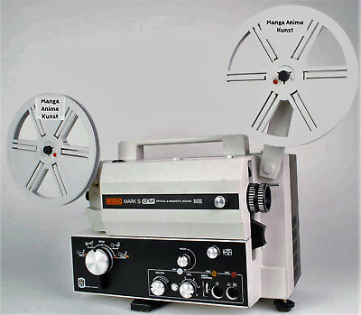 Film projectors, Eumig Mark S OM plus Film Paket Gebraucht Oldtimer