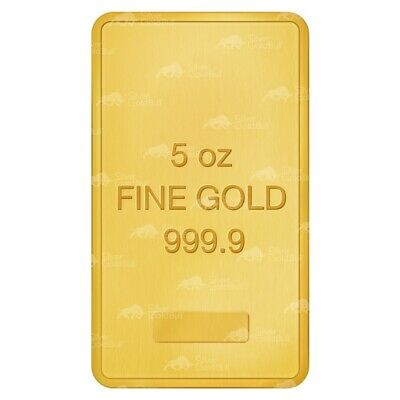 5 oz Pure Assorted Gold Bar
