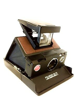 Polaroid SX-70 Model 3, Instant Film Camera, Film Tested, #334