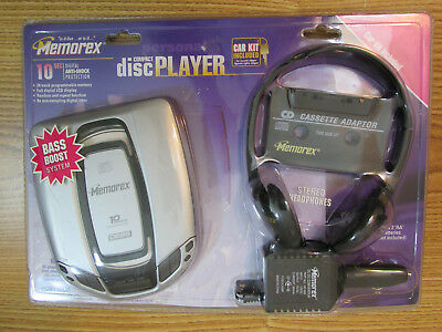 Memorex Compact Disc Player Md6110Cp Car Kit Included