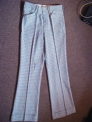 Vintage NOS With Tags 70s Hippie BELL BOTTOM Flare Leg Pants, FARAH W33 L34