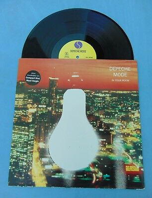 DEPECHE MODE RARE PROMO MAXI IN YOUR ROOM ( Songs of Faith and Devotion LP era )