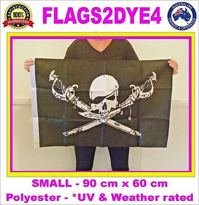 Pirate flag skull swords bretheren flag for sailing boat pole or cubby house