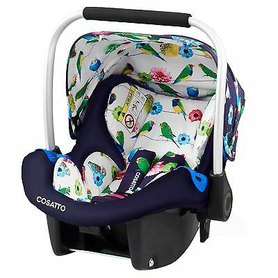 Cosatto Port Group 0+ From Birth Baby / Child Carrier / Car Seat - Eden