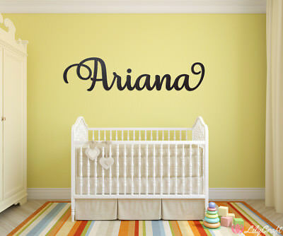 Personalised Baby Name Plaques Wall Decor Nursery Room